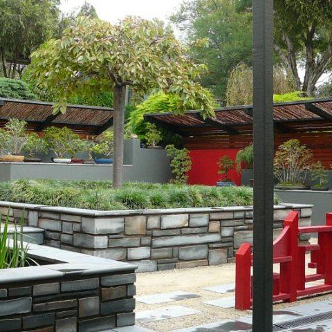 Japanese Garden landscape in bendigo
