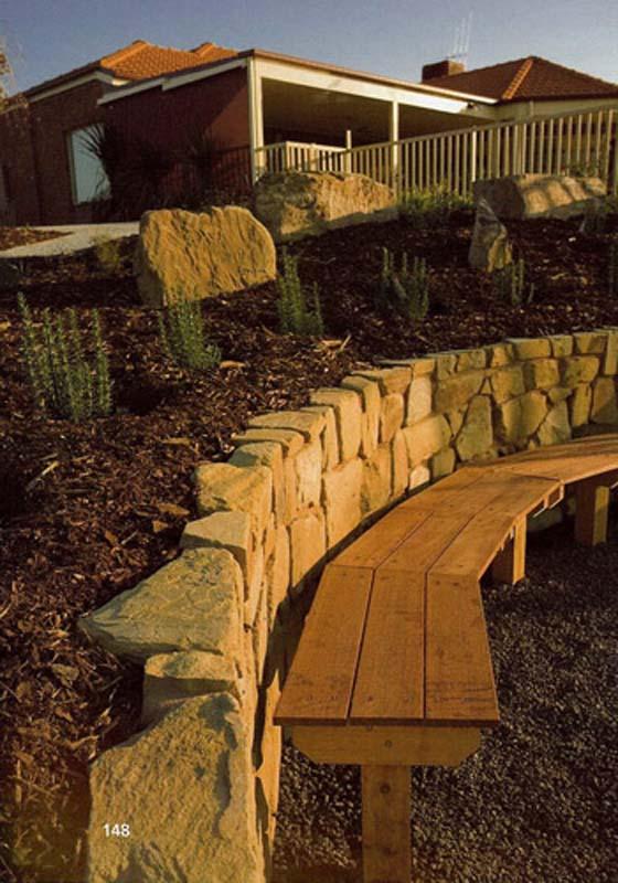 Landscape Architect Retaining Wall : Landscape retaining walls bendigo luke bullock landscaping